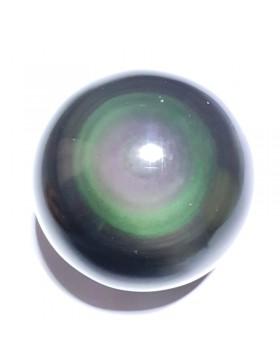 Sphère en obsidienne oeil-céleste