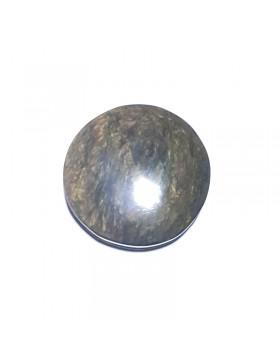 Cabochon en obsidienne manto hichol