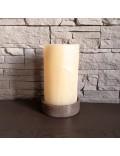Lampe artisanale en pierre