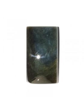 Cabochon obsidienne mantohuichol