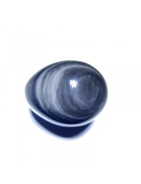 Oeuf en obsidienne oeil céleste