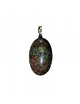 Pendentif obsidienne Manto huichol