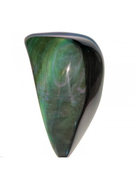 Forme libre obsidienne œil céleste