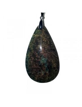 Pendentif obsidienne XL Manto huichol