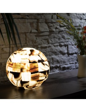 Lampe sphère Coatlicué