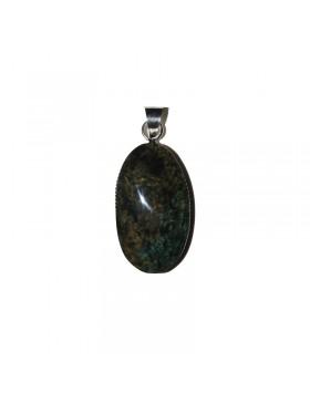 Pendentif en obsidienne manto huichol