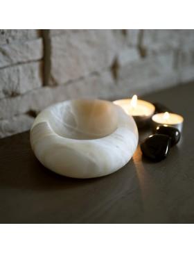 Porte-savon en onyx marbre