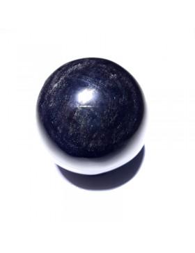 Sphère argentée