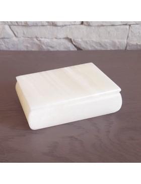 Boîte à bijoux blanche