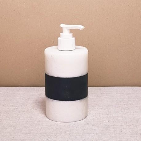 Distributeur de savon artisanale en onyx marbre