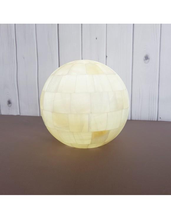 Lampe sphère Metztli