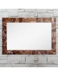 Miroir rectangulaire en onyx marbre