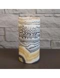 Lampe rustique en pierre naturelle