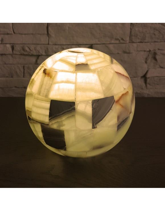 Lampe boule à poser